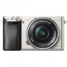 Digitalni fotoaparat Sony Alpha 6000 kit 16-50mm - srebrn