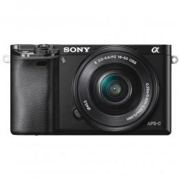 Digitalni fotoaparat Sony Alpha 6000 kit 16-50mm - črn