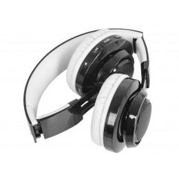 TREVI Brezžične BLUETOOTH slušalke DJ 1300 BTR + mikrofon, MicroSD, Radio FM, AUX-in, rdeče