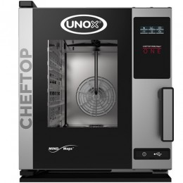 Električna parno konvekcijska pečica UNOX XECC-0523-E1R one compact 5 GN 2/3