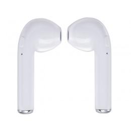 TREVI HMP 1220 AIR mini Bluetooth slušalke z mikrofonom in polnilno enoto, bele