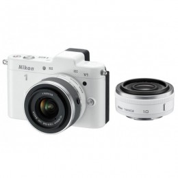 Nikon 1 V1 KIT + 1 Nikkor VR 10-30mm + 10mm Pancake Lens