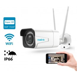 REOLINK brezžična kamera RLC-511W, 5MB Super HD, 4x Optični Zoom