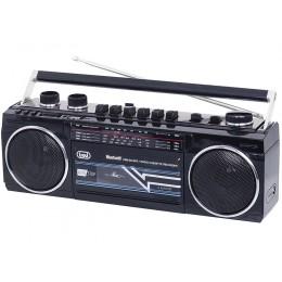 TREVI RR 501 BT Radijski kasetofon s tehnologijo Bluetooth, moder