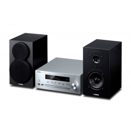 Yamaha MCR-N470D glasbeni stolp - srebrna