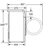Bosch WLK24261BY pralni stroj (6Kg)