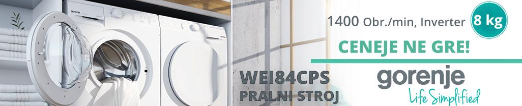 Gorenje WEI84CPS pralni stroj z inverter motorjem