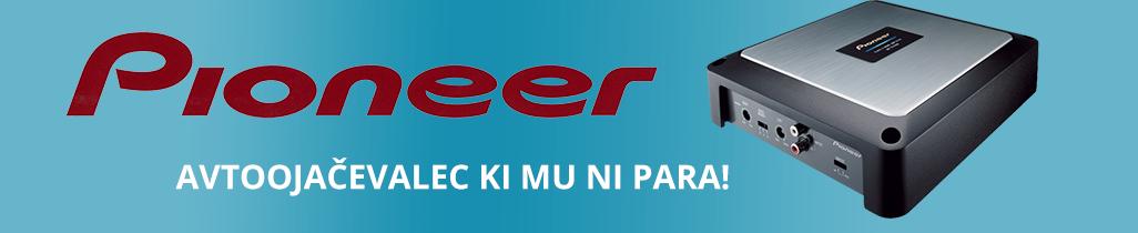 Avtoojačevalci Pioneer so primerni za vse vrste avtomobilov!